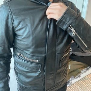 Vince Jackets & Coats - Vince Leather Jacket